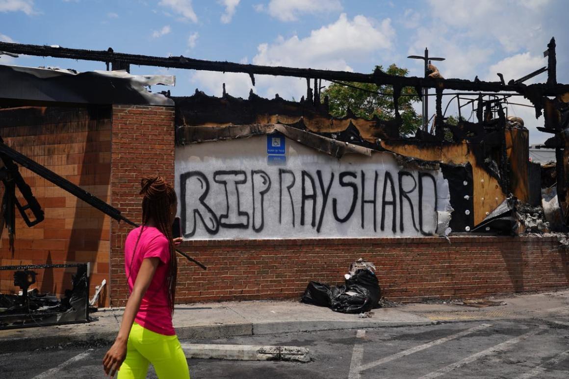 Wendy's where Rayshard Brook was murdered