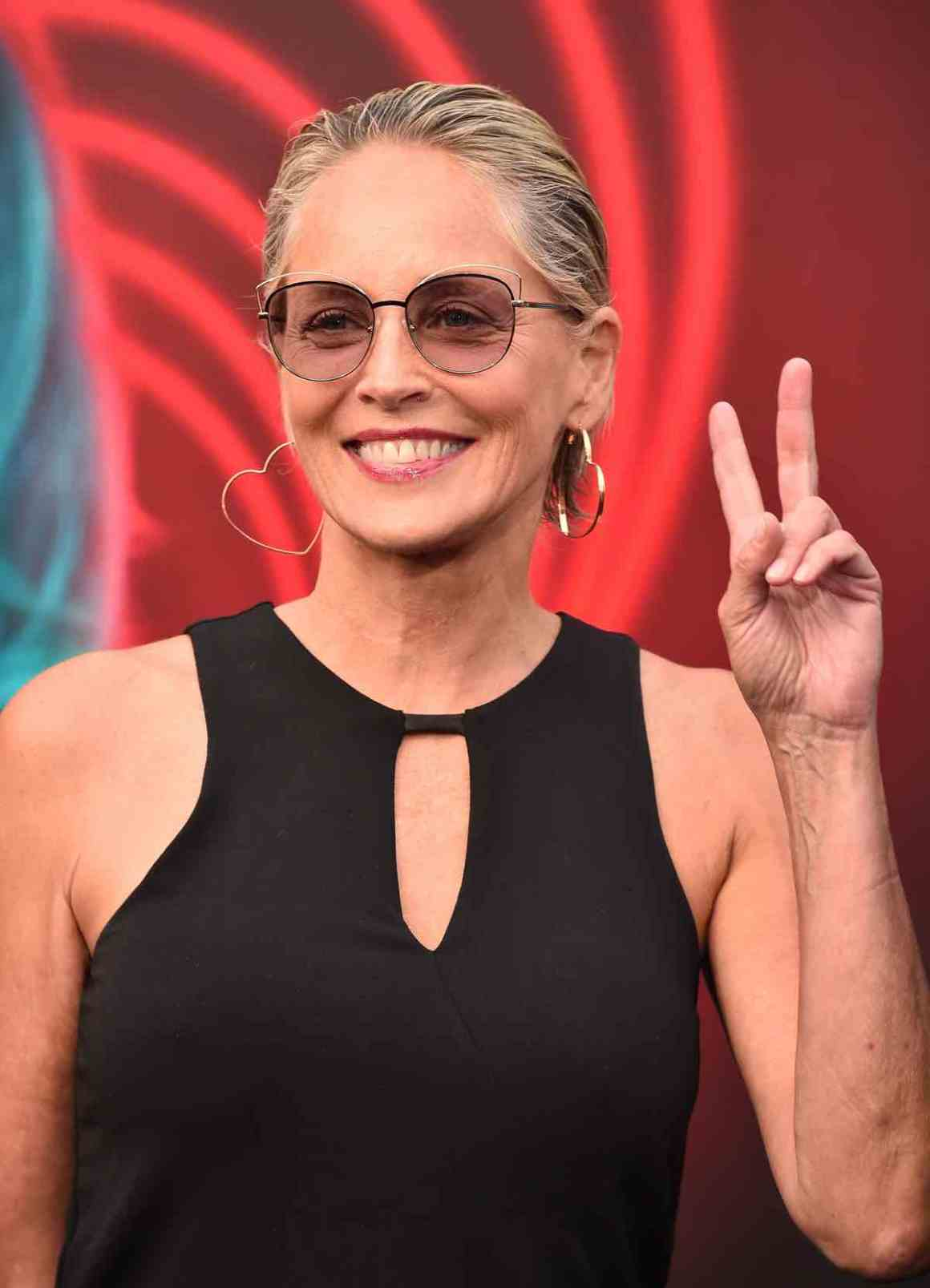 "Sharon Stone at Premiere Of Lionsgate's ""The Spy Who Dumped Me"" - Arrivals"