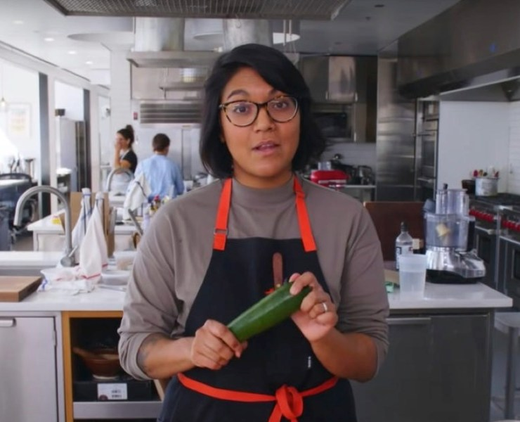 Bon Appétit's assistant food editor Sohla El-Waylly