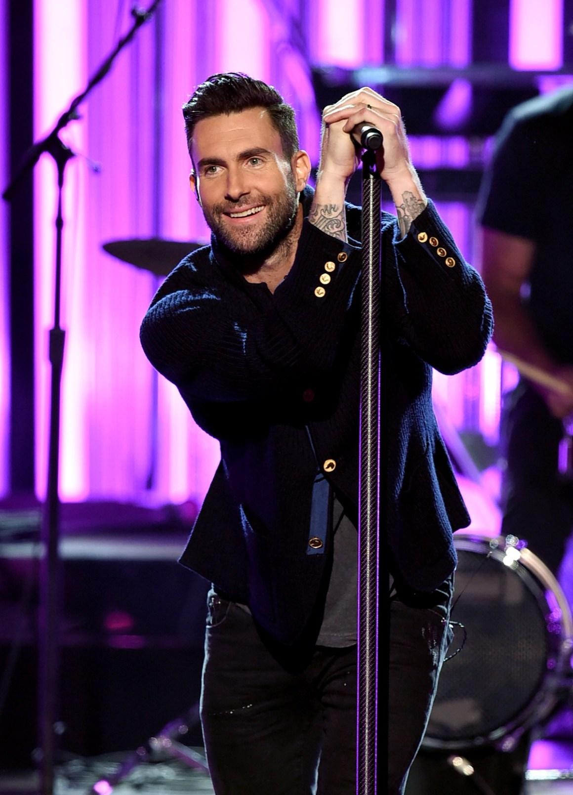 Adam Levine 2016 American Music Awards - Show