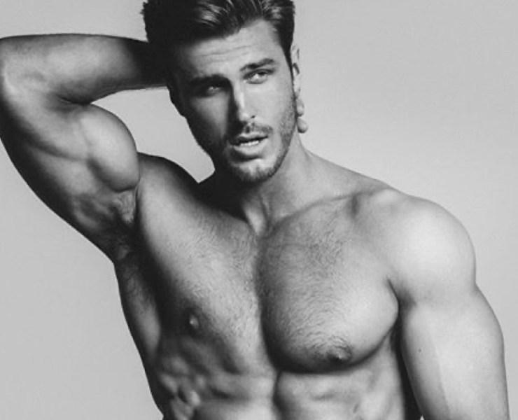 Male Model Dusty Lachowicz