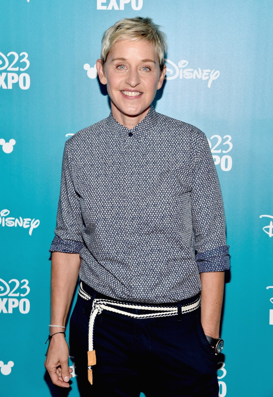 "Ellen DeGeneres ""Pixar And Walt Disney Animation Studios: The Upcoming Films"" Presentation At Disney's D23 EXPO 2015"