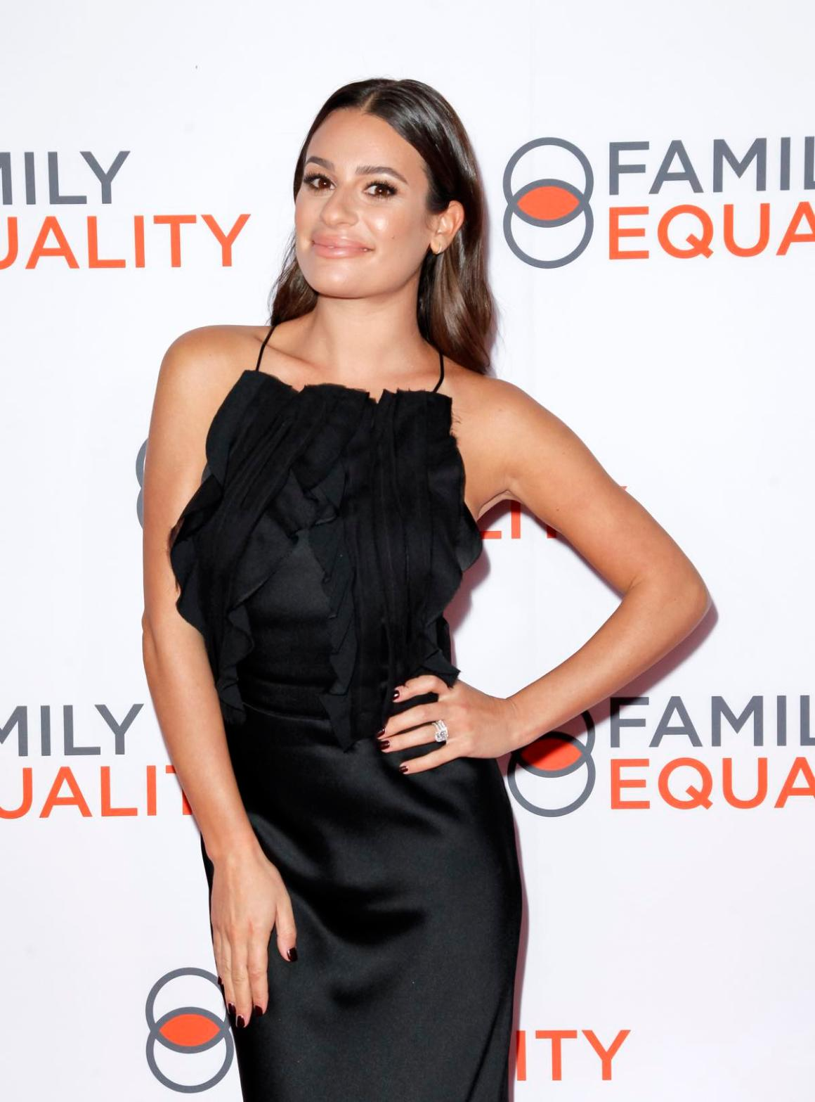 Lea Michele Family Equality Los Angeles Impact Awards 2019