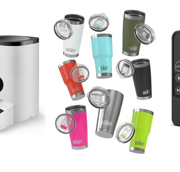 SL Recommends: PetLibro Automatic Pet Feeder, The Beast Tumbler, elago R1 Intelli Apple TV Siri Remote Case