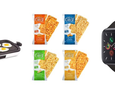 Dash Griddle, Just the Cheese Baked Cheese Bars and Minis, Apple Watch Series 5