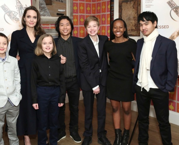 """Angelina Jolie """"The Boy Who Harnessed The Wind"""" Special Screening, Hosted by Angelina Jolie"""