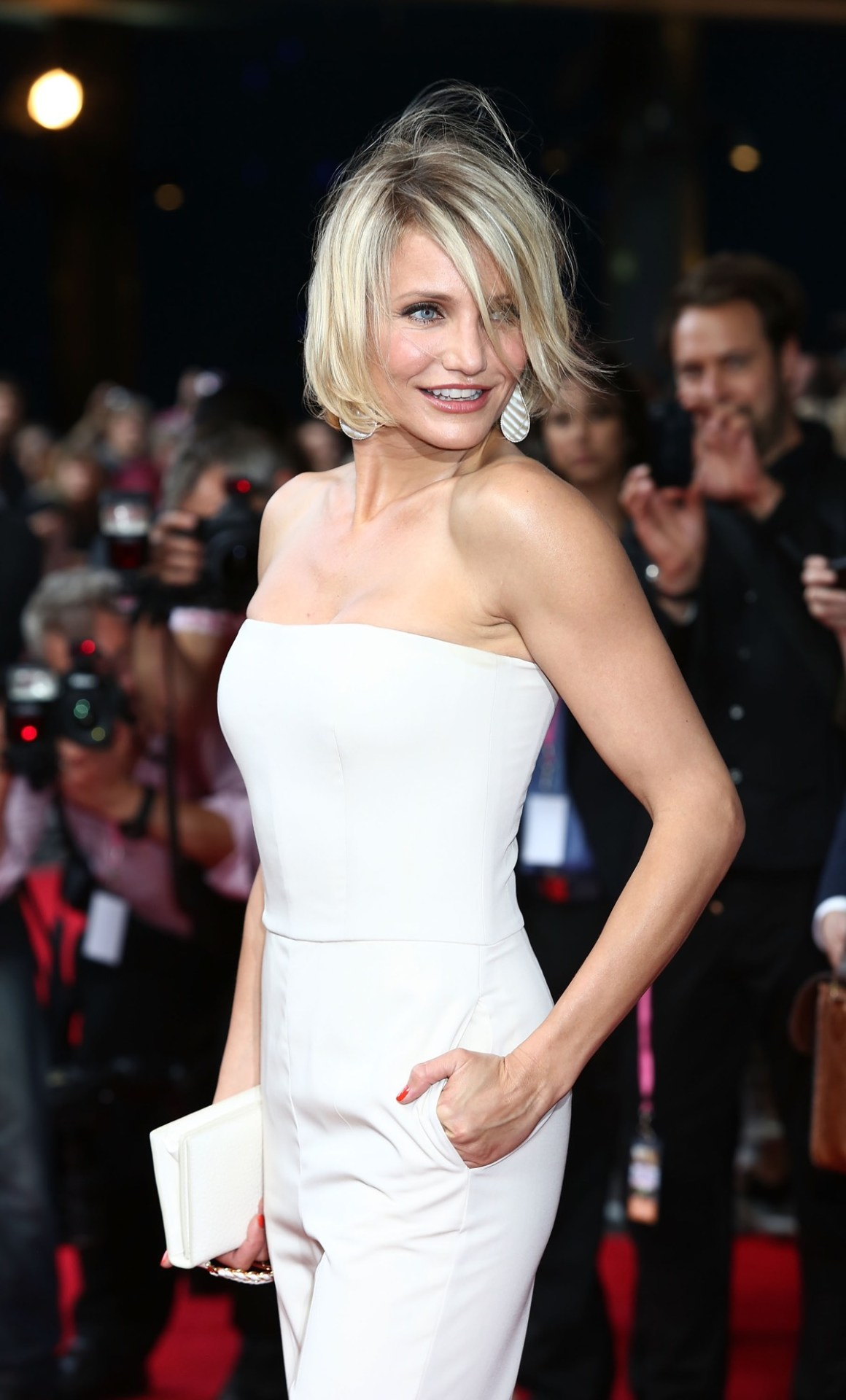 Cameron Diaz What To Expect When You're Expecting - UK Film Premiere