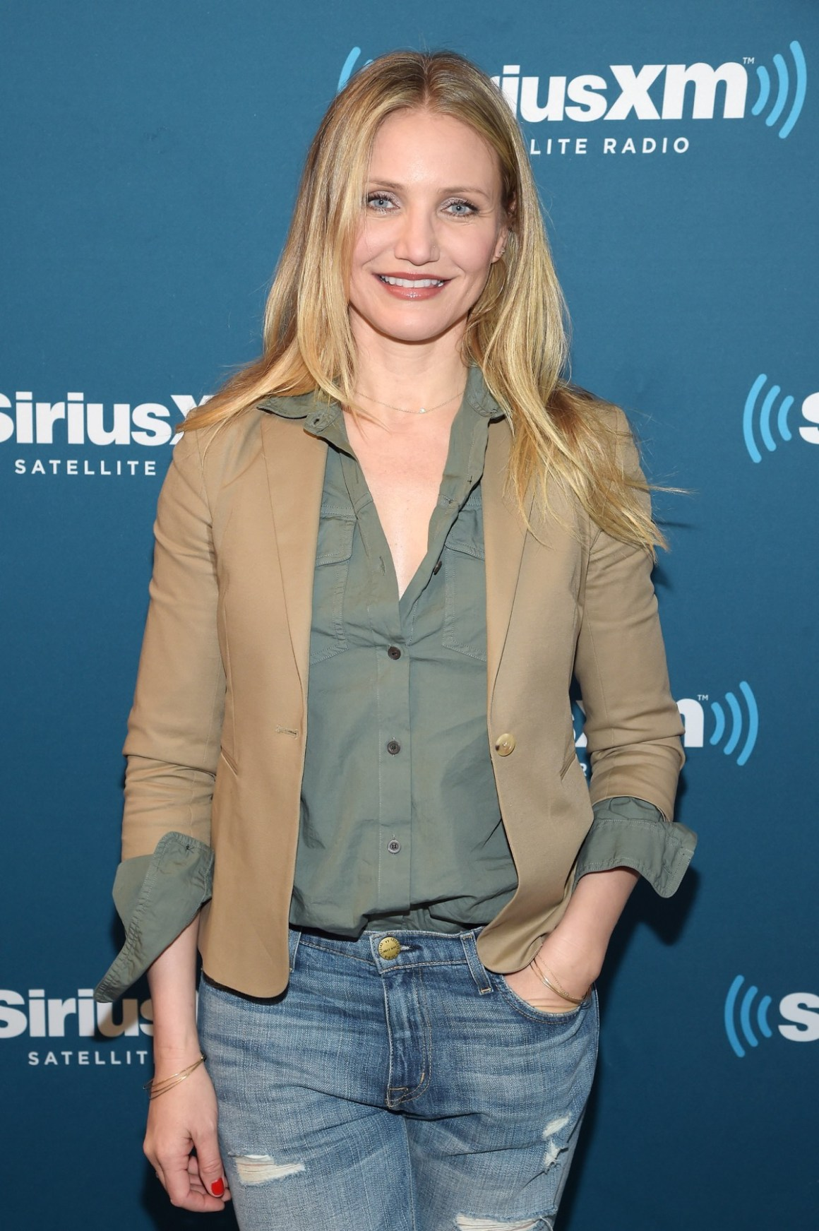Cameron Diaz SiriusXM's Town Hall With Cameron Diaz Hosted By Andy Cohen; Town Hall To Air On Andy Cohen's Exclusive SiriusXM Channel Radio Andy