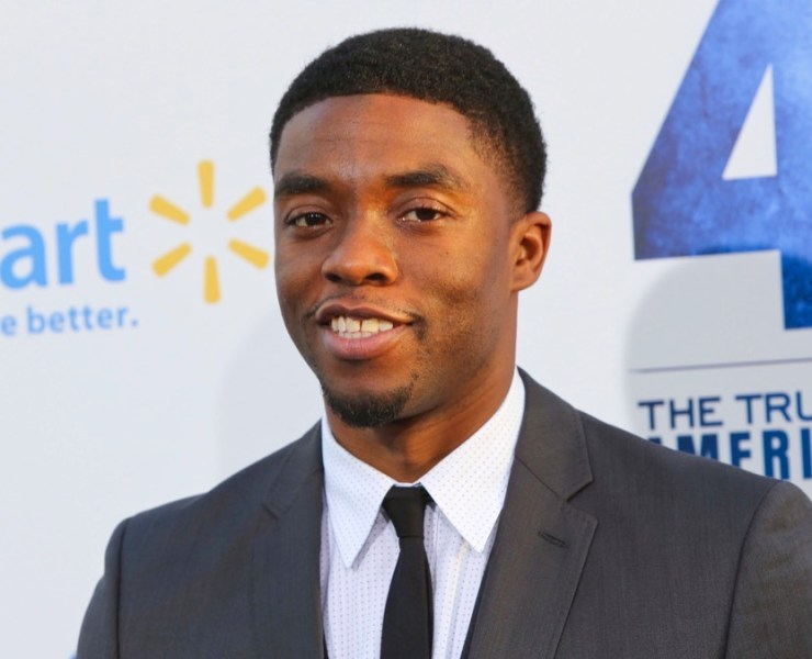 """Chadwick Boseman Premiere Of Warner Bros. Pictures' And Legendary Pictures' """"42"""" - Arrivals"""