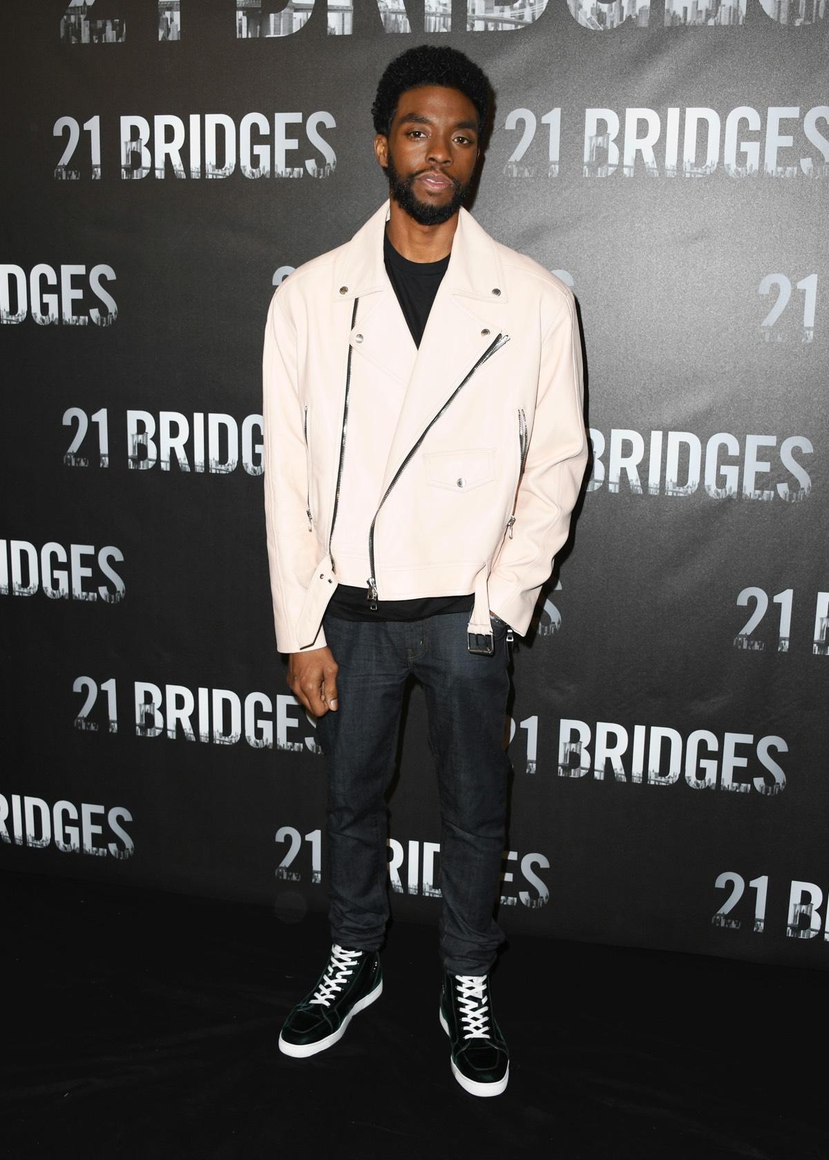 "Chadwick Boseman Photocall For STX Entertainment's ""21 Bridges"""