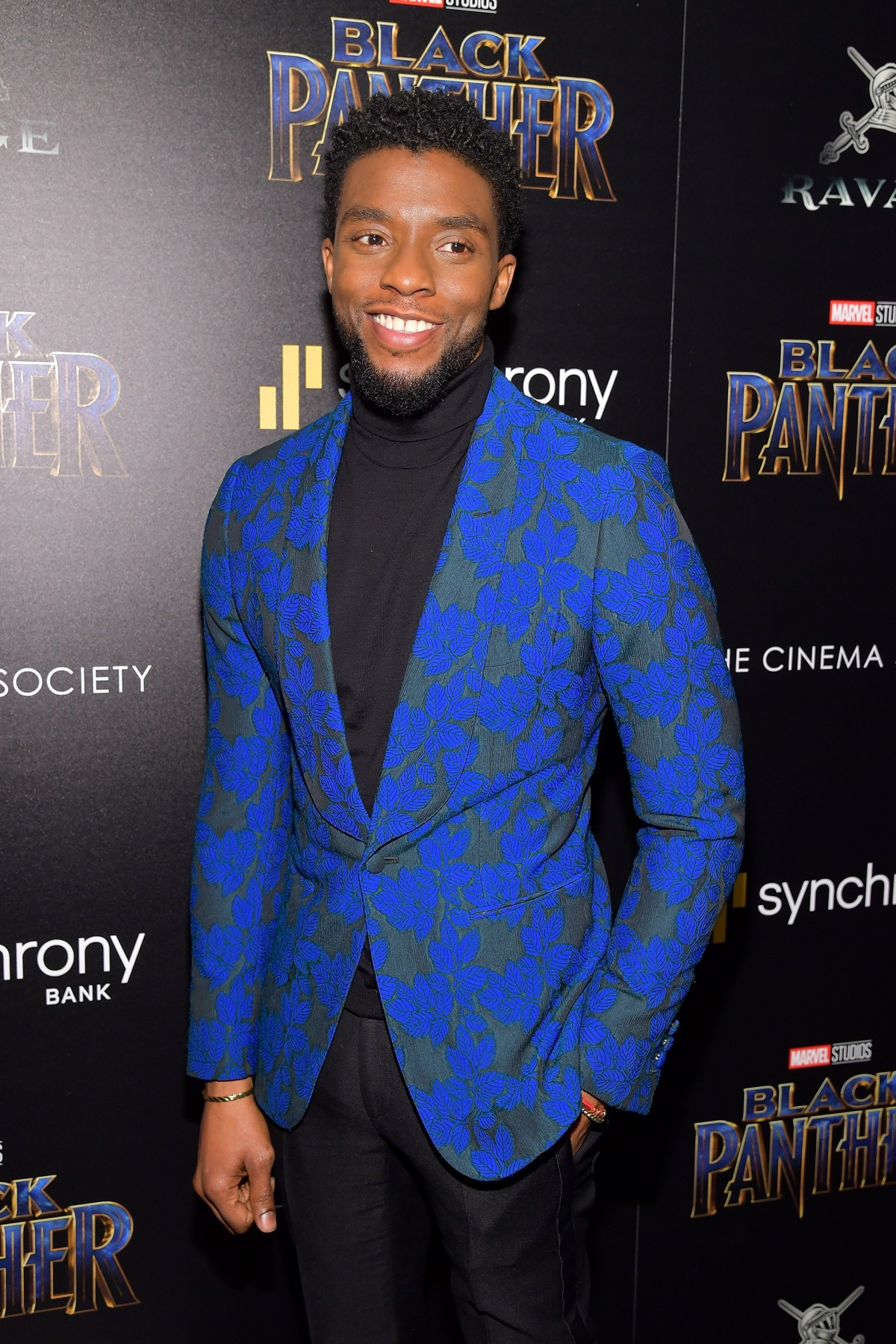 "Chadwick Boseman The Cinema Society Hosts A Screening Of Marvel Studios' ""Black Panther"""