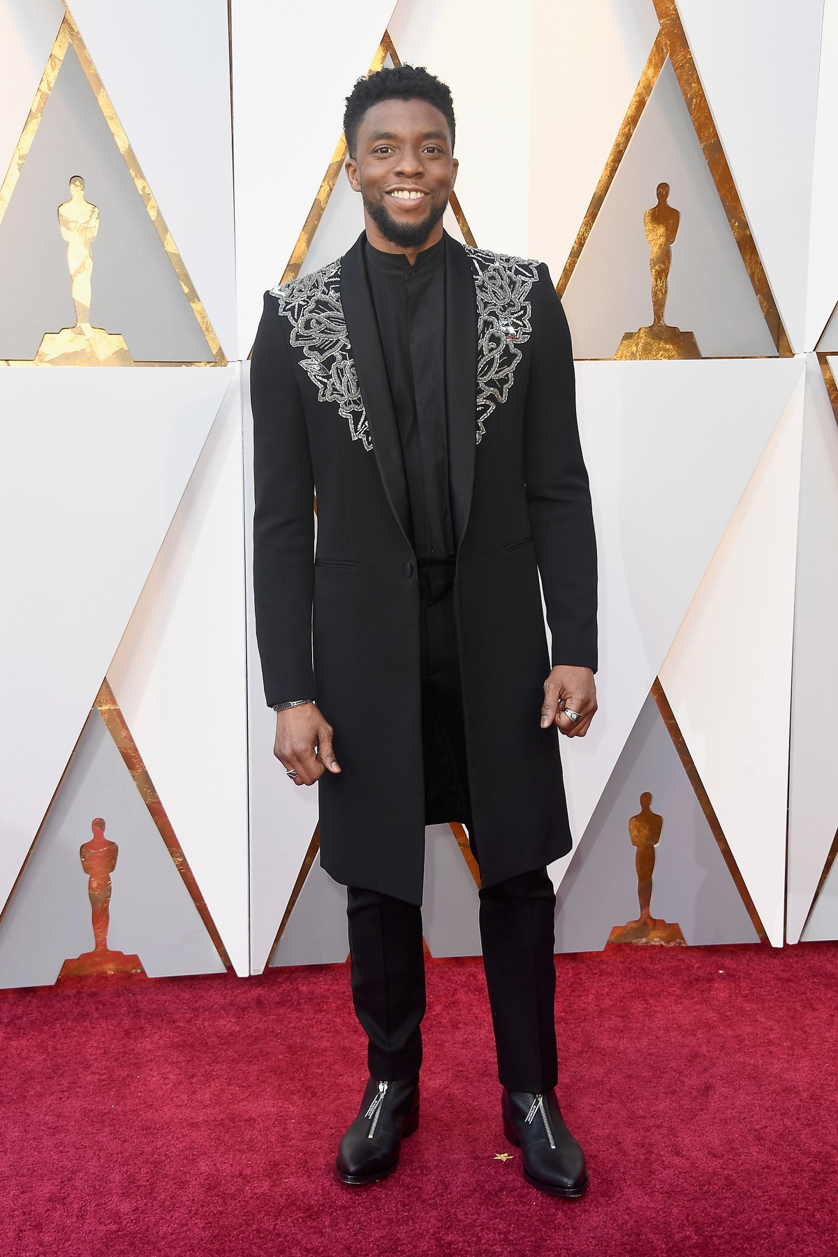 Chadwick Boseman 90th Annual Academy Awards - Arrivals