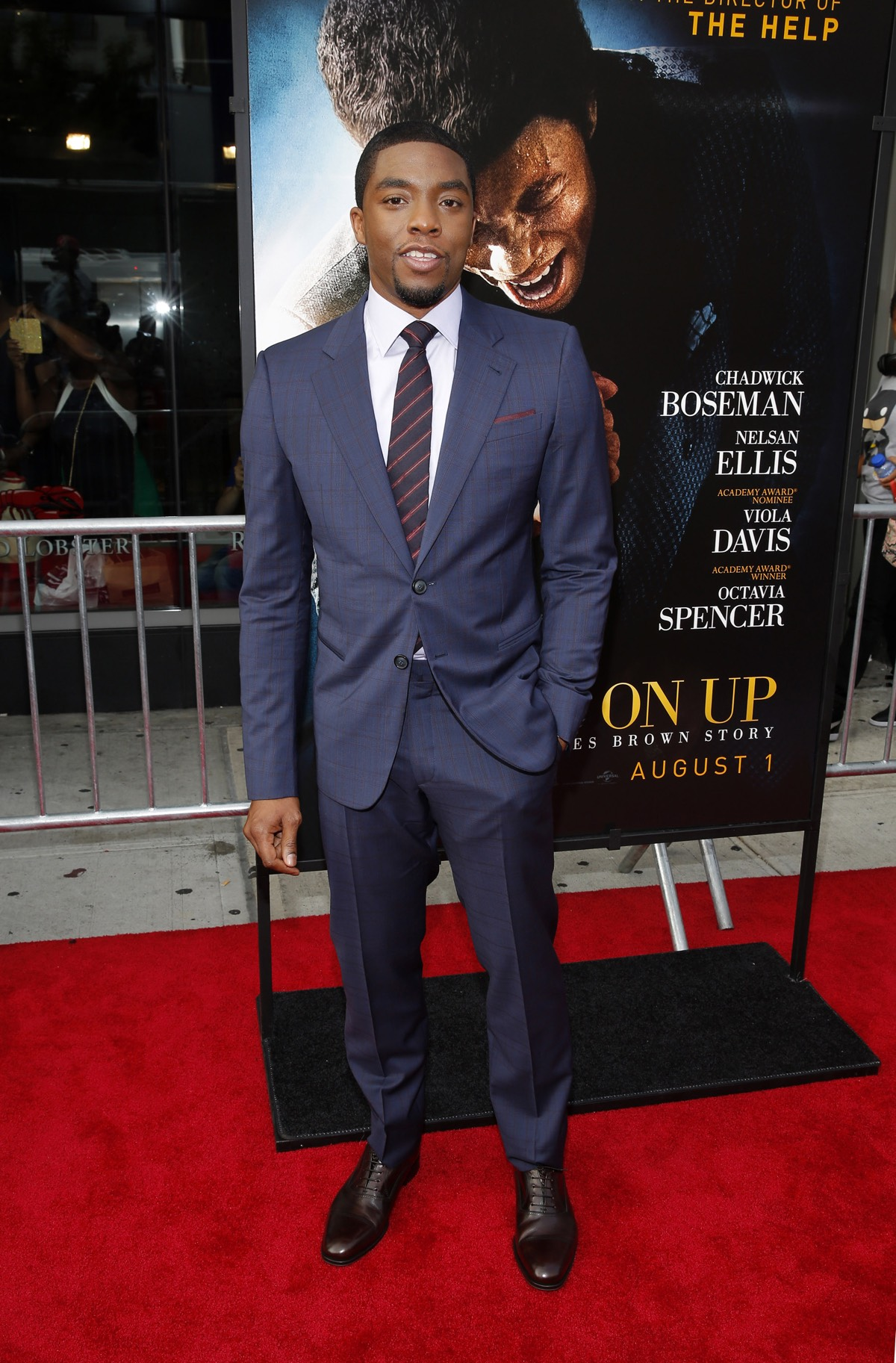 "Chadwick Boseman ""Get On Up"" New York Premiere - Arrivals"
