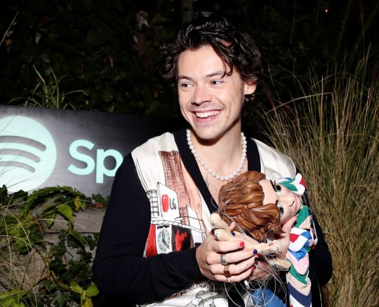 Spotify Celebrates The Launch Of Harry Styles' New Album With Private Listening Session For Fans