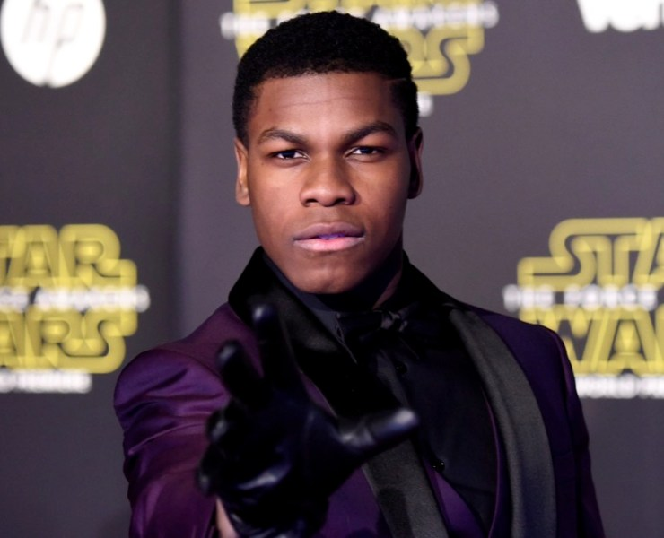 """John Boyega Premiere Of Walt Disney Pictures And Lucasfilm's """"Star Wars: The Force Awakens"""" - Arrivals"""