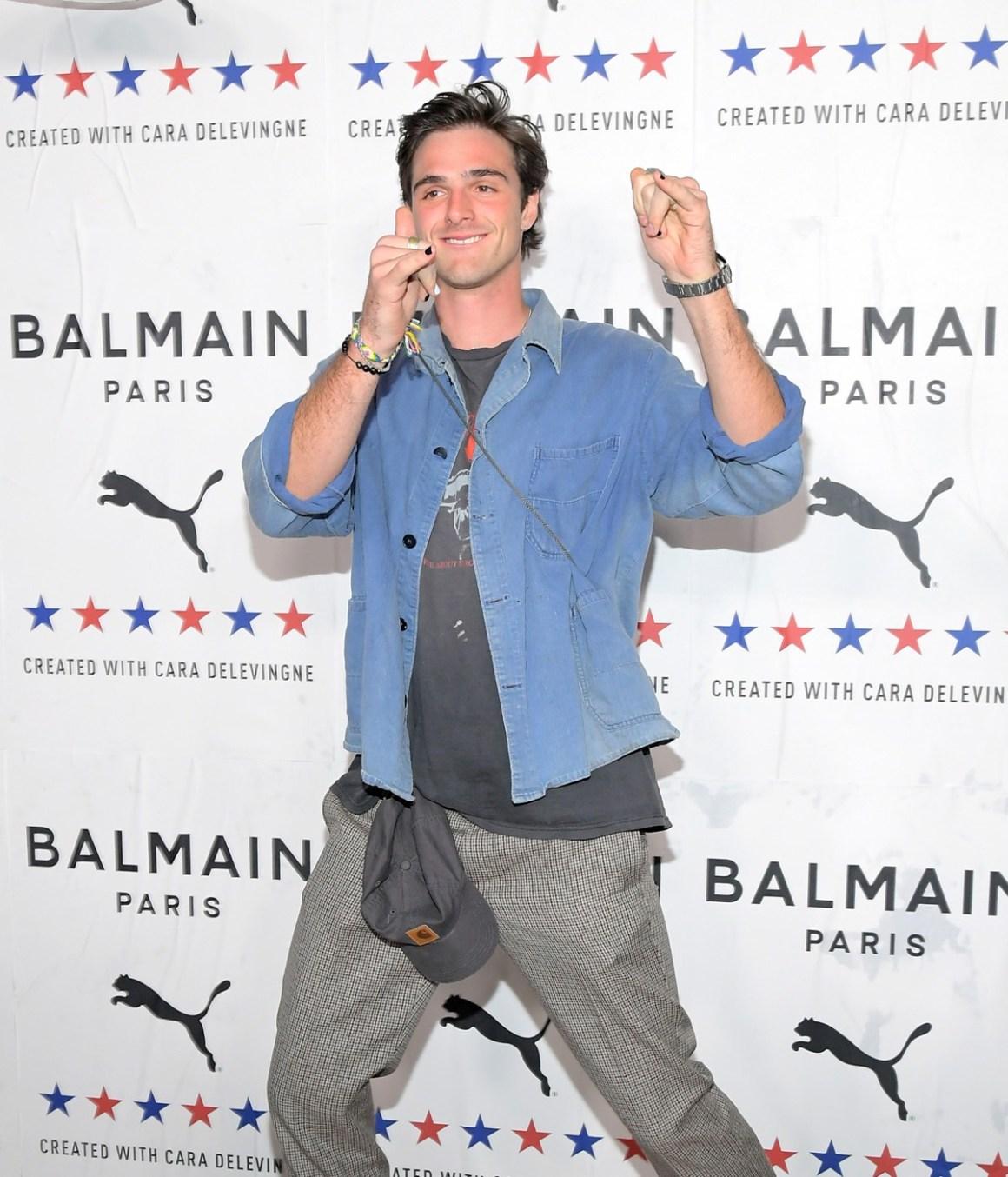 Jacob Elordi 'PUMA x Balmain- created with Cara Delevingne' LA Launch Event