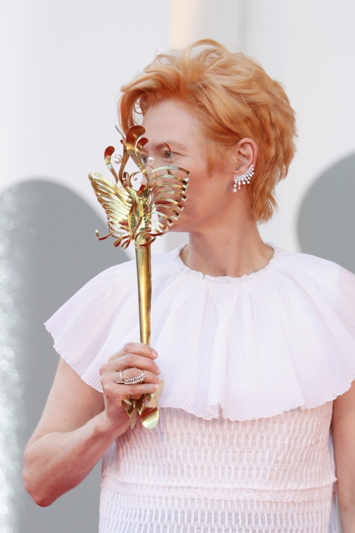 """Tilda Swinton """"Lacci"""" Red Carpet And Opening Ceremony Red Carpet Arrivals - The 77th Venice Film Festival"""