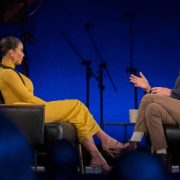 David Letterman confronts Kim Kardashian West
