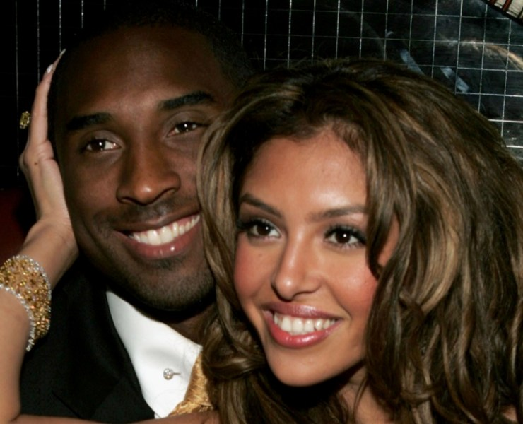 Kobe Bryant and wife VanessaNV: World Music Awards - After Party