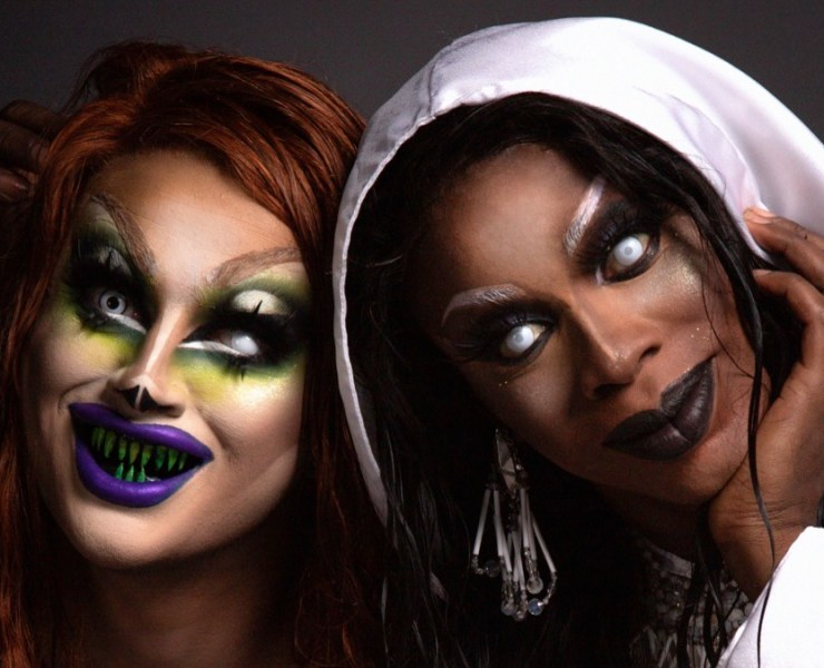 Dragula's Loris and Drag Race's Honey Davenport