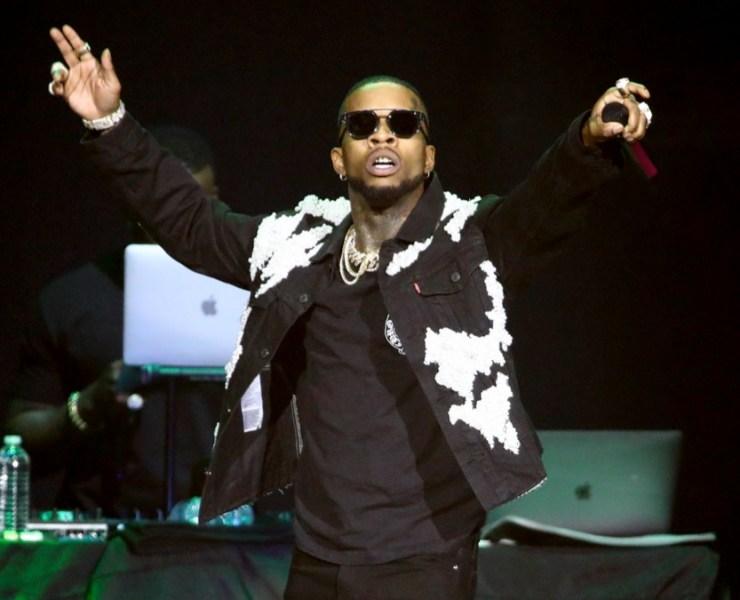 Tory Lanez Chris Brown In Concert - Los Angeles, CA