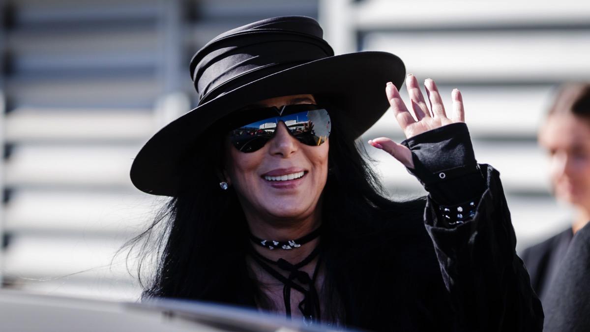 Pop Star Cher Arrives In Australia