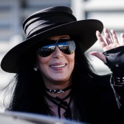 Pop Star Cher Arrives In Australia