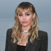 Miley Cyrus Saint Laurent Mens Spring Summer 20 Show - Photo Call