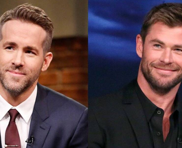 Ryan Reynolds Chris Hemsworth