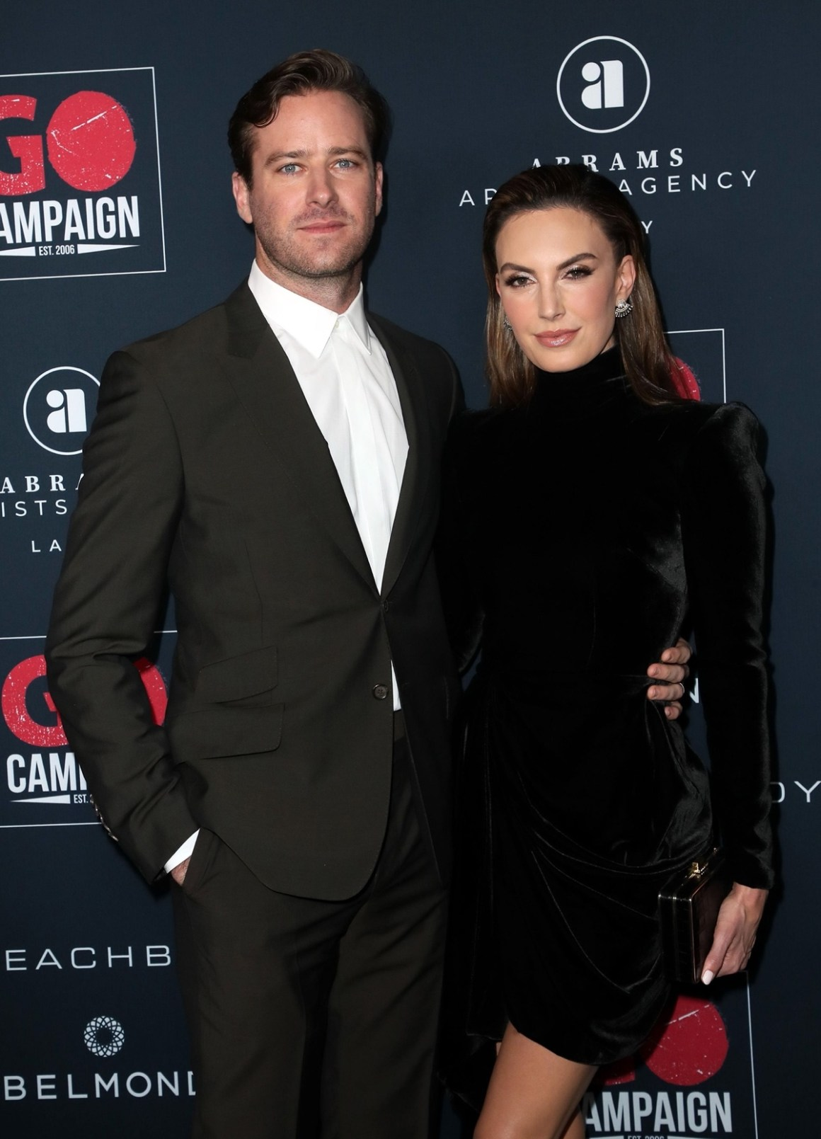 Elizabeth Chambers and Armie Hammer Go Campaign's 13th Annual Go Gala - Arrivals