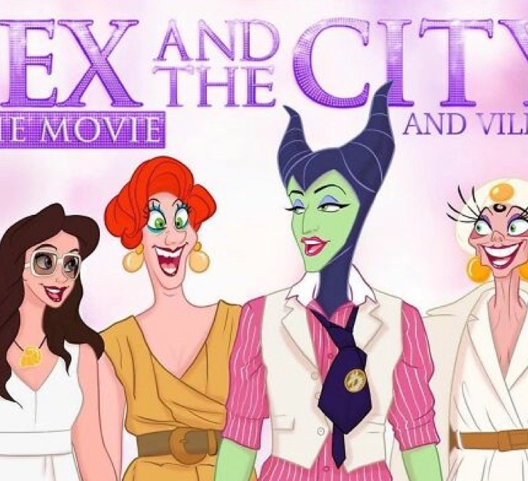 Classic films and shows were reimagined with Disney characters