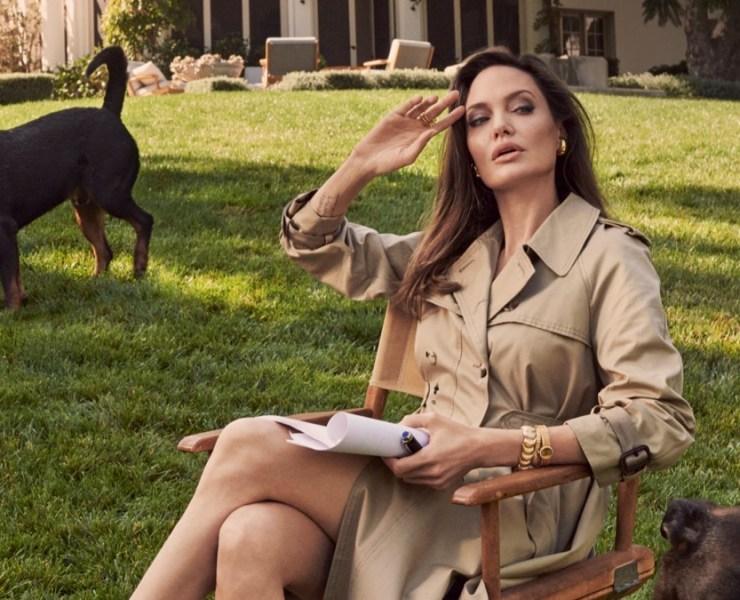 Angelina Jolie for British Vogue