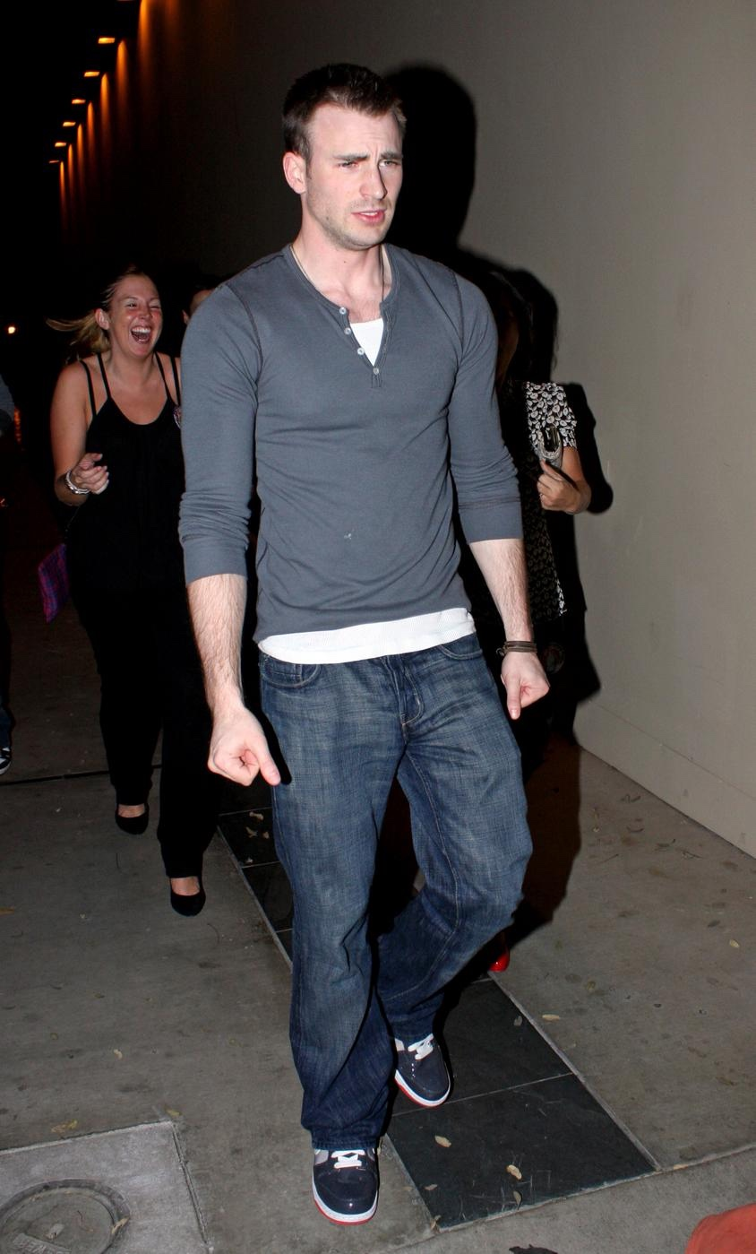 Chris Evans hits the clubs
