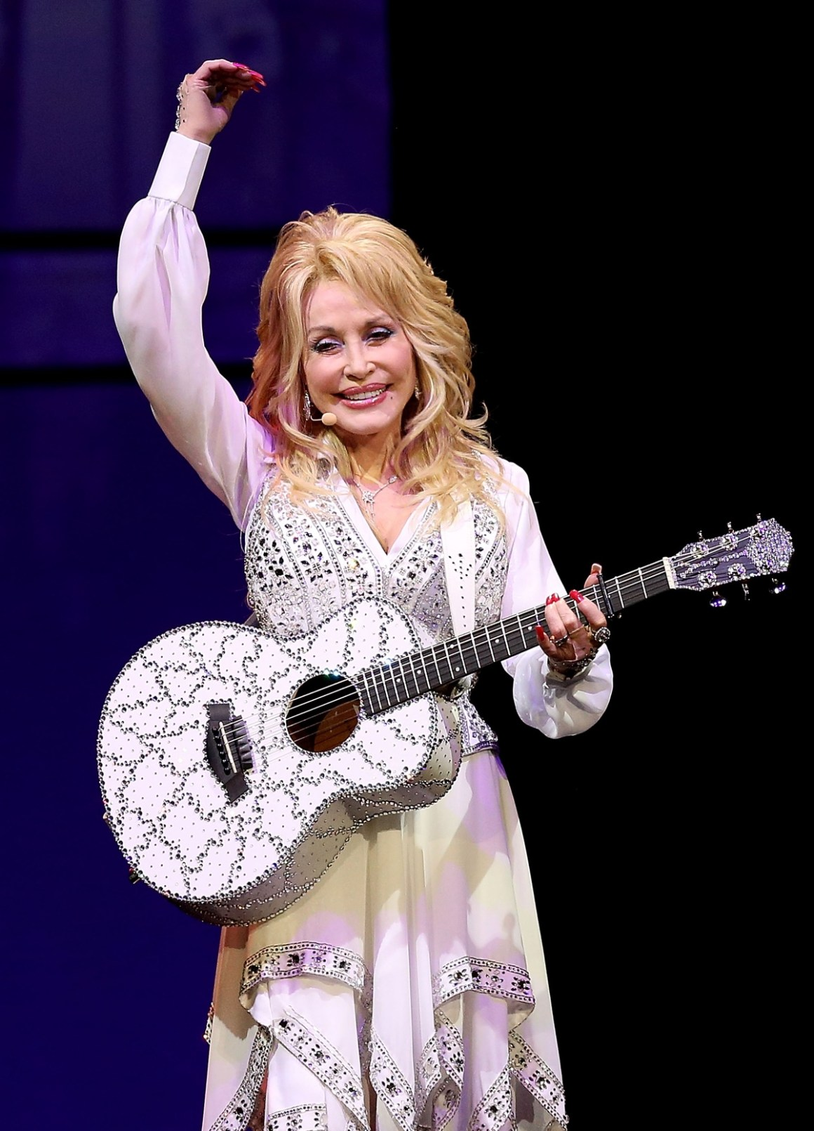 Dolly Parton Performs In Melbourne
