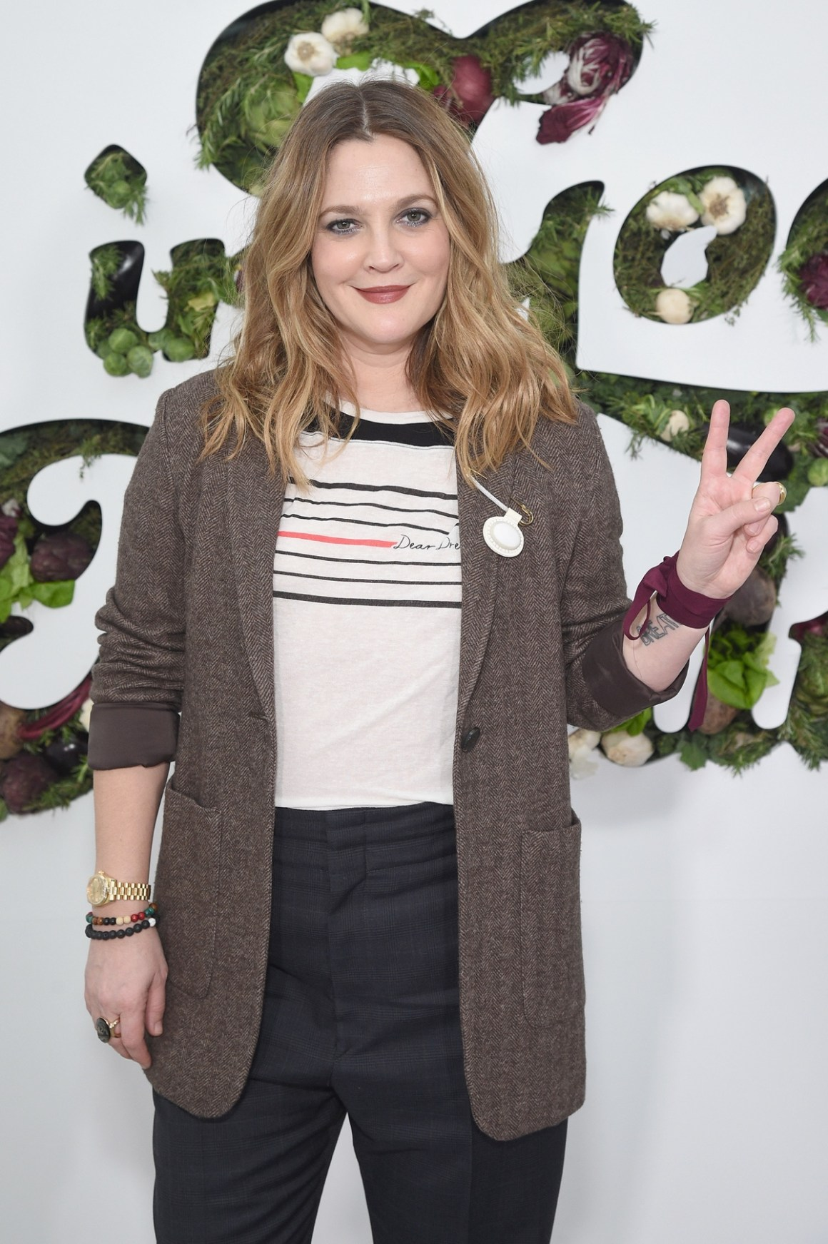 Drew Barrymore in goop Health Summit