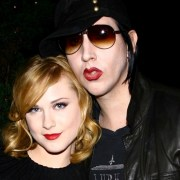 "Evan Rachel Wood and Marilyn Manson Special Screening Of ""Across The Universe"" - After Party"