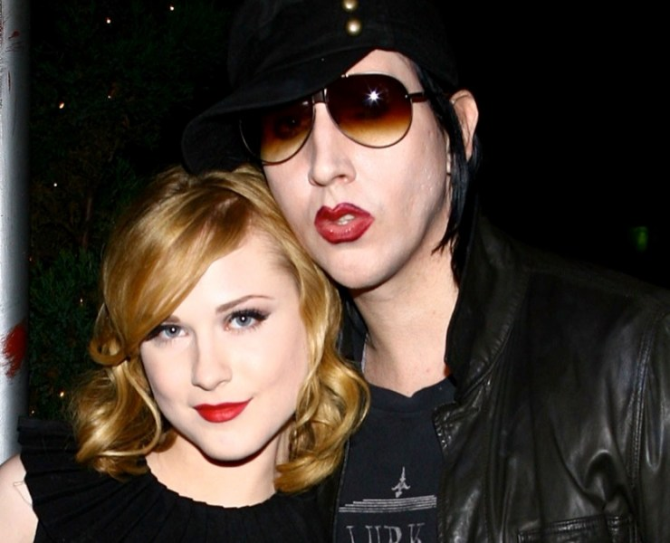 """Evan Rachel Wood and Marilyn Manson Special Screening Of """"Across The Universe"""" - After Party"""