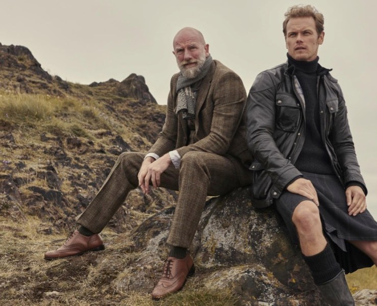 Men in Kilts starring Sam Heughan and Graham McTavish