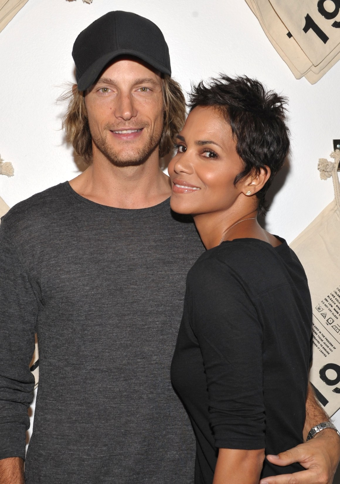 Halle Berry and Gabriel Aubry Gap Launches 1969 Jean Shop