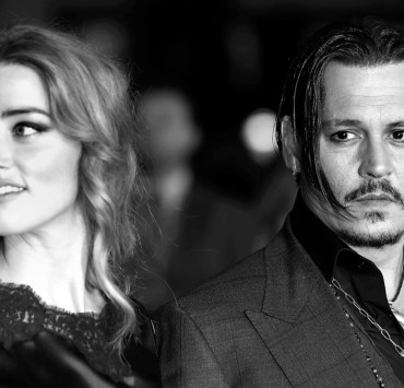 "Amber Heard and Johnny Depp ""Black Mass"" - Virgin Atlantic Gala - BFI London Film Festival"