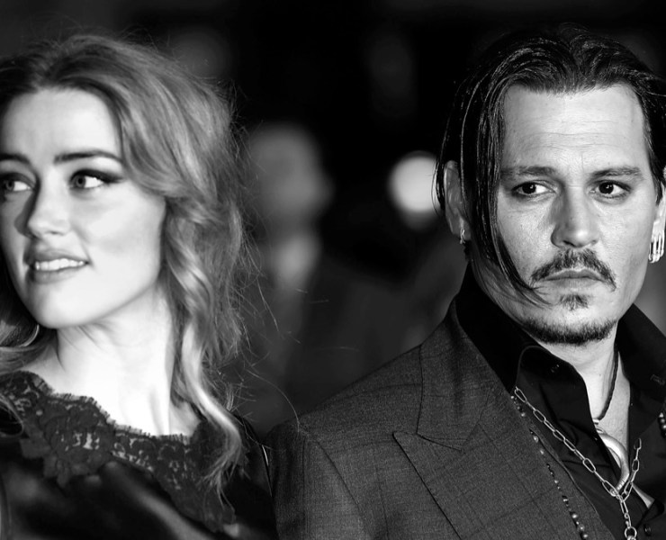 "Amber Heard and Johnny Depp ""Black Mass"" - Virgin Atlantic Gala - BFI London Film Festival"