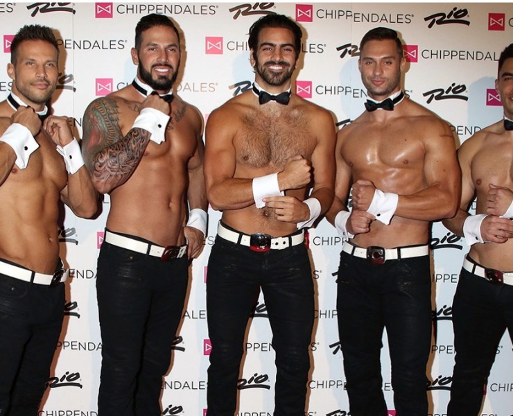 Nyle DiMarco Chippendales