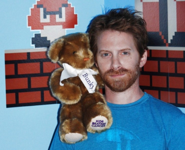 Seth Green and Bunky the Bear for Kids Beating Cancer