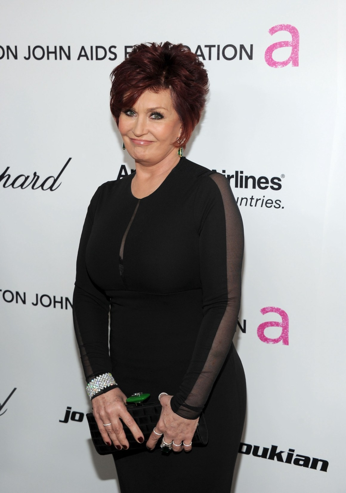Sharon Osbourne 19th Annual Elton John AIDS Foundation Academy Awards Viewing Party - Red Carpet