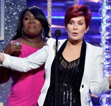 Sheryl Underwood and Sharon Osbourne The 41st Annual Daytime Emmy Awards - Show