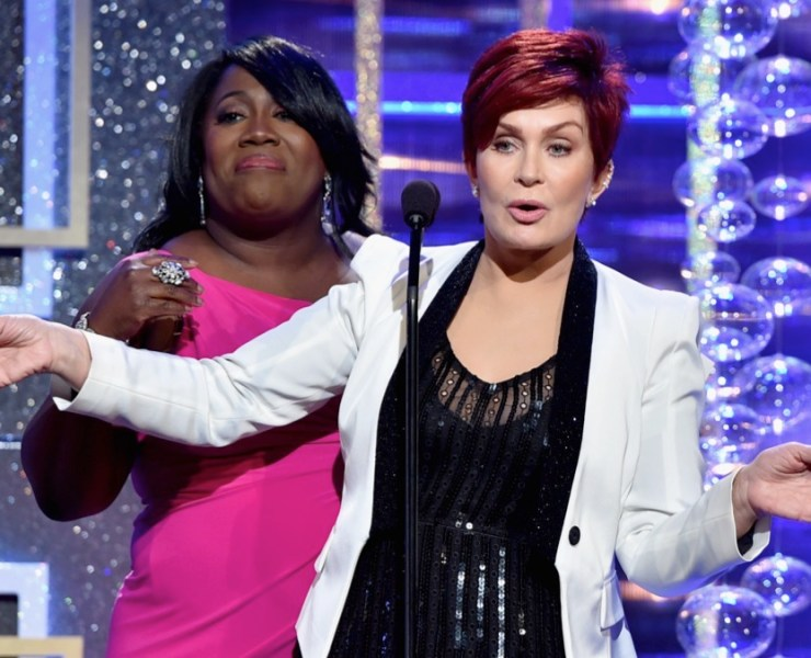 Sheryl Underwood and Sharon Osbourne The 41st Annual Daytime Emmy Awards - Show