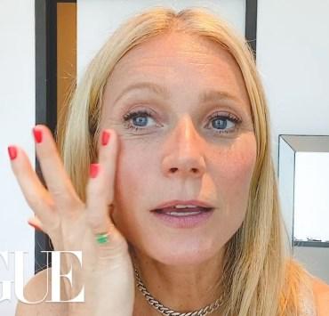 Gwyneth Paltrow Vogue video