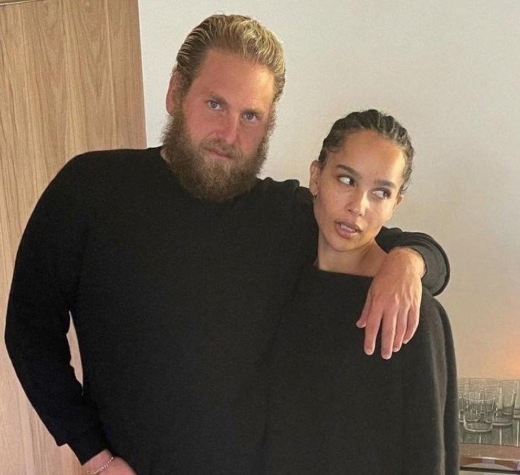 Zoe Kravitz and Jonah Hill tease possible secret project for The Row