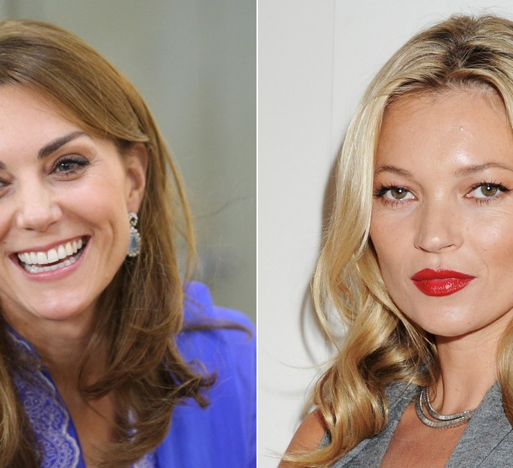 Kate Middleton and Kate Moss