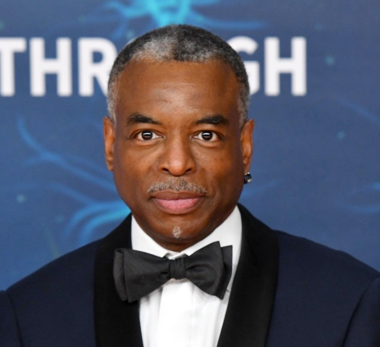 LeVar Burton 2020 Breakthrough Prize - Red Carpet